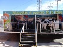 Visita Unidad Movil Leche Zaragoza